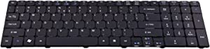 Laptop Keyboard Replacement Compatible for Acer Aspire NSK-ALC1D 9Z.N1H82.C1D 5250 5251 5253 5336 5551 5552 5560 5733 5733z 5736Z 5738Z 5740 5741 5742 5750 5750G 5810 7741 7551 Series US Layout