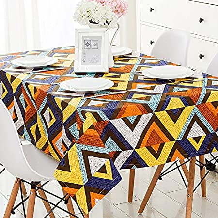 Battar Luxury Classic Natural Tablecloth Table Protector Machine
