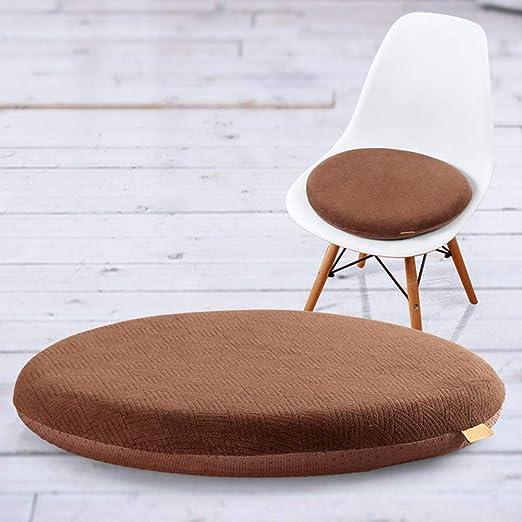 Memory Foam Seat Cuscino Sedia Seat Cuscino, Round Bistro