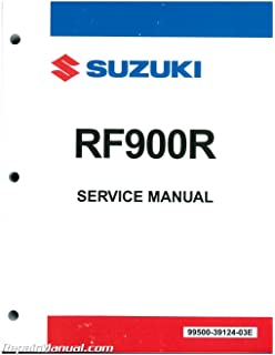 99500-39124-03e 1994-1998 suzuki rf900r motorcycle service manual
