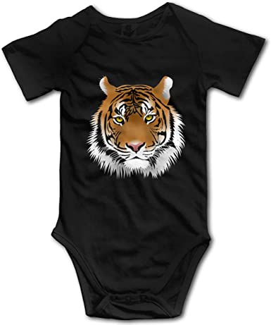 Jigsaw NASA Logo Baby Onesies Unisex Babys Climbing Clothes Bodysuits Romper Short Sleeved Light Onesies for 0-24 Months Black