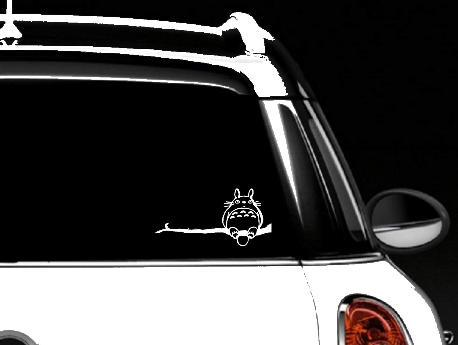 Amazon com totoro car window decal vinyl sticker automotive