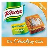 Knorr Chicken Stock Cubes Low Salt (6x9g)