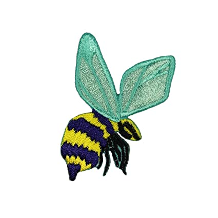 Amazon com: ID 0427B Bumble Bee Patch Wasp Hornet Insect Bug