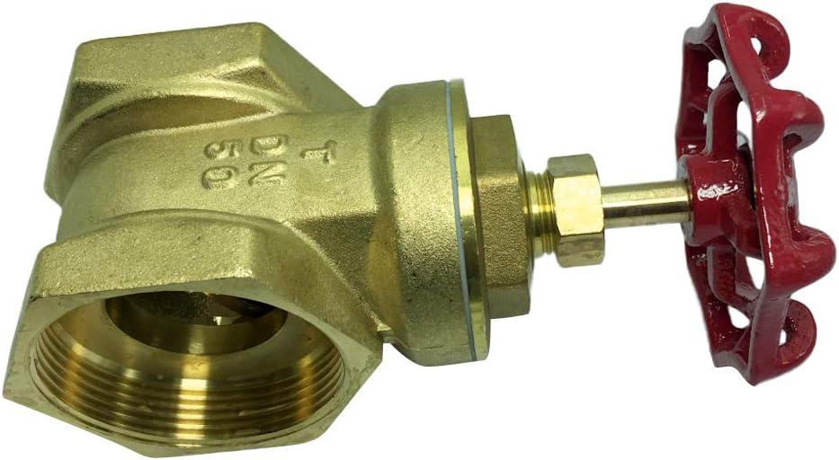 Shiwaki Regulador De Flujo DN50 Bomba De Agua Válvula Recta Interruptor De Flujo De Agua DIY 58 Mm
