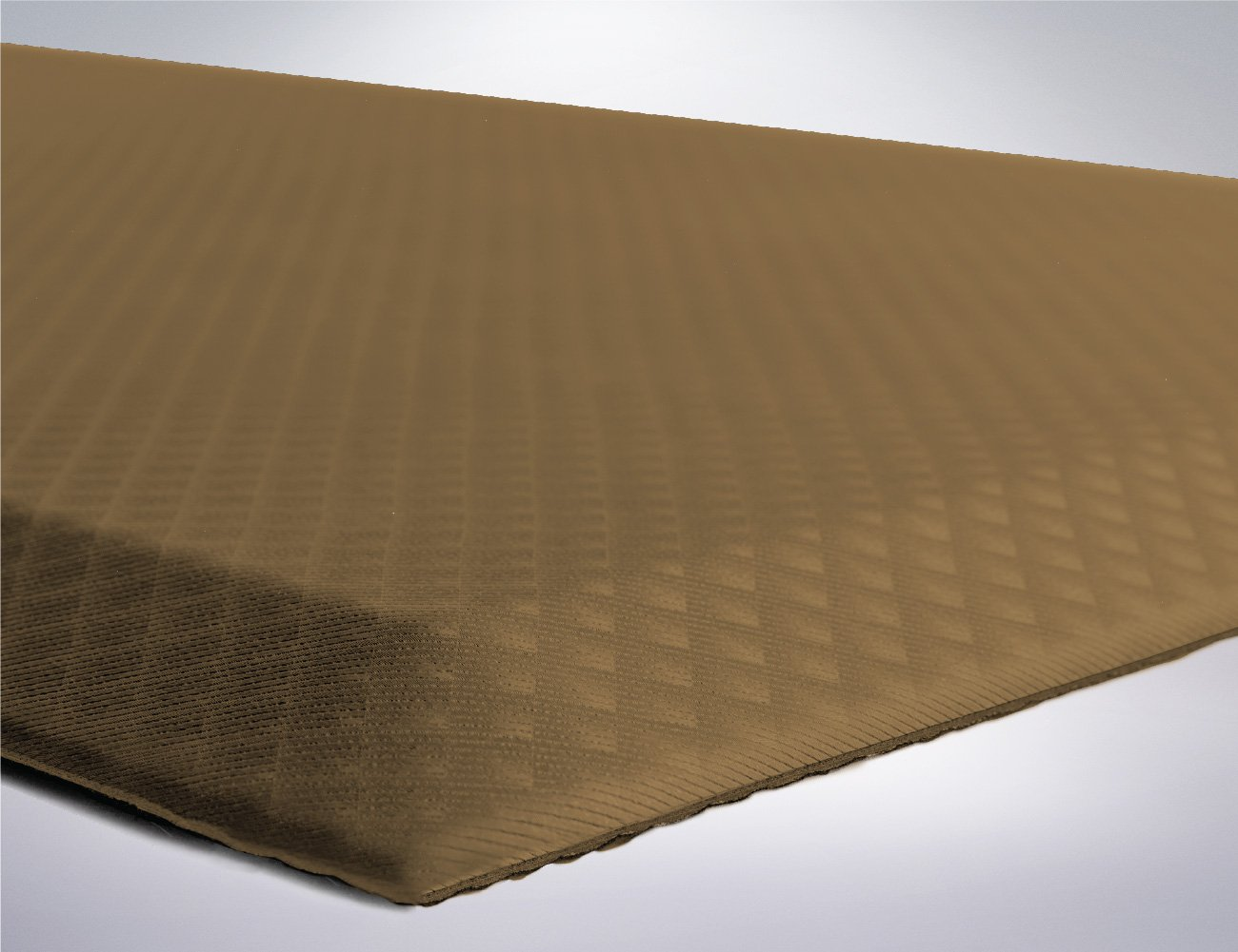 Kangaroo Brands Original 3/4'' Anti-Fatigue Comfort Standing Mat Kitchen Rug (70x24), Phthalate Free, Non-Toxic, Waterproof, Ergonomically Engineered Floor Pad, Rugs for Office Stand Up Desk (Sand)