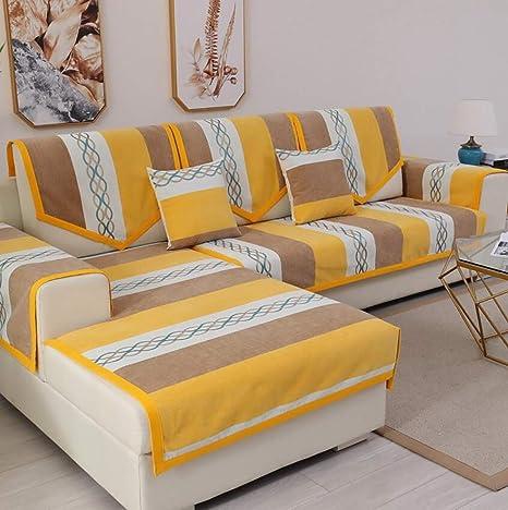 YLCJ Funda de sofá de Tres Asientos Funda de sofá Protector ...