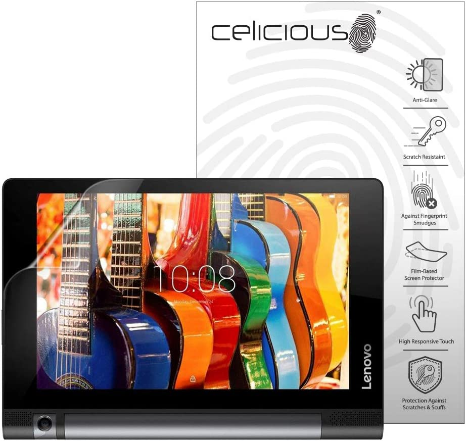 Celicious Matte Anti-Glare Screen Protector Film Compatible with Lenovo Yoga Tab 3 8-inch [Pack of 2]