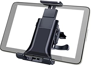 Linkstyle Car Air Vent Mount Holder, Universal Car Vent Tablet Phone Mount Adjustable Clip Compatible with 4-10.5 inch iPhone 12 11 iPad Pro Max Mini Samsung Galaxy Cell Phone for Auto Dashboard