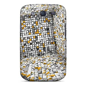 LittleNiccy Design High Quality Abstractwall Cover Case With Excellent Style For Galaxy S3