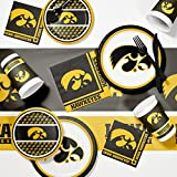 University of Iowa Game Day Party Supplies Kit