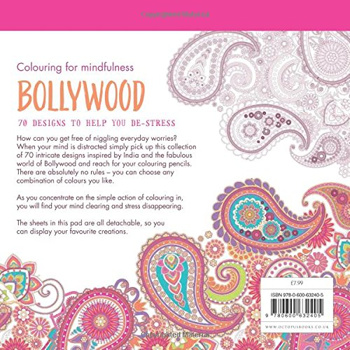 bollywood colouring for mindfulness hamlyn 9780600632405 amazon