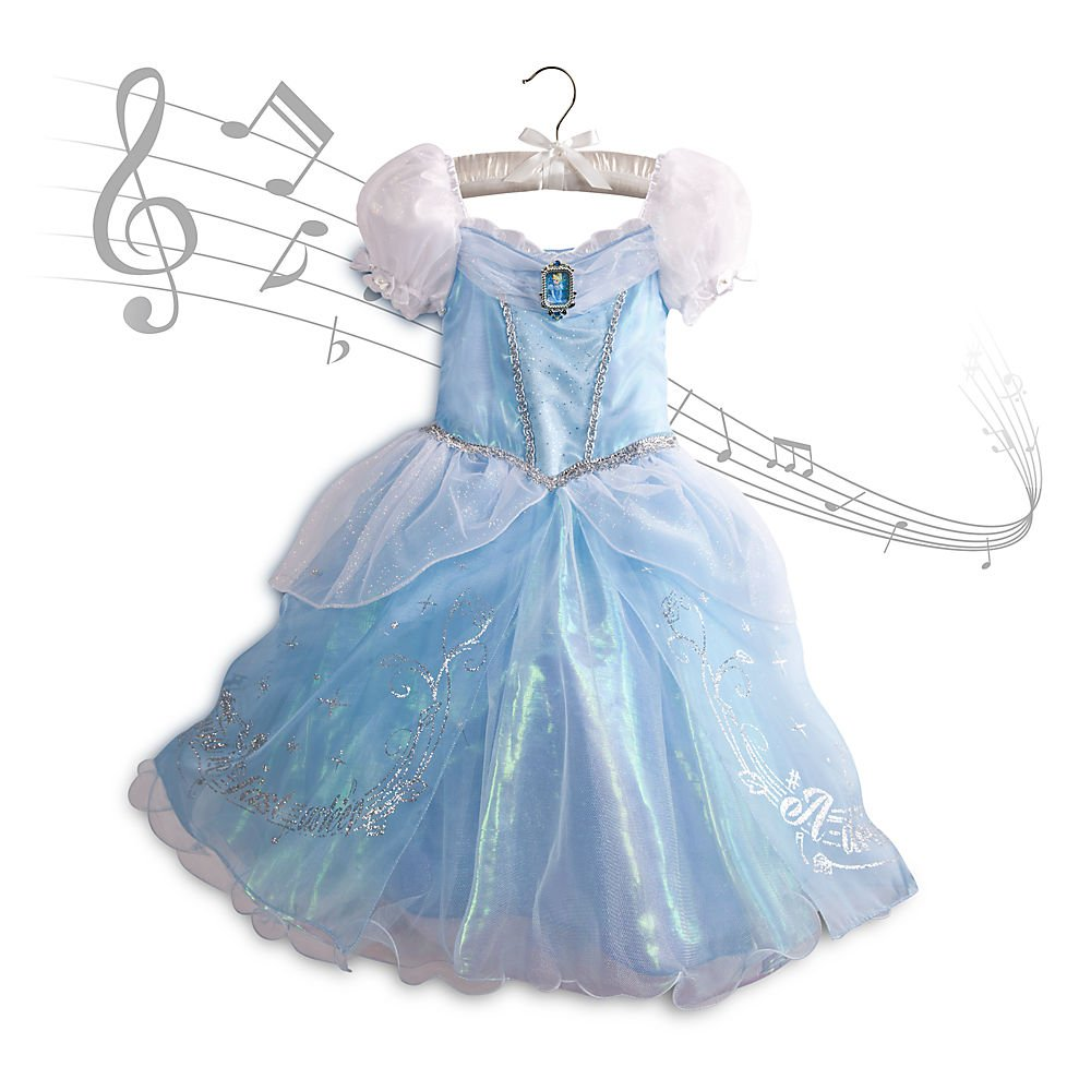 Amazon.com: Disney Store Princess Cinderella Musical Costume Ball ...