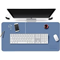 Mouse Pad Leather Desk Mat Extended Laptop Keyboard Pads Waterproof Computer Accessories Protection for Office Gaming…
