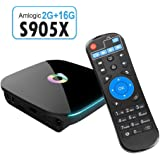 Balight Q Box Amlogic S905X Android TV Box Android 6.0 Quad-core 2GB 16GB 2.4G/5.0G Dual Band Wifi Support 3D 4K UHD Smart TV Box