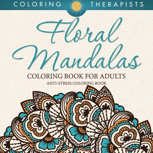 Floral Mandalas Coloring Book Adults product image