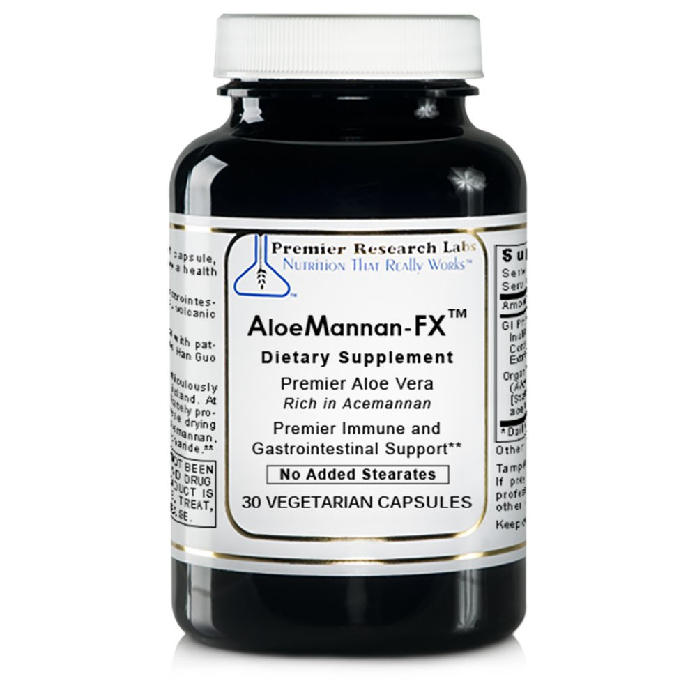 PREMIER RESEARCH LABS AloeMannan-FX 30 Capsules
