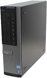 Dell Optiplex 7010 SFF Premium Flagship Business Desktop Computer (Intel Quad-Core i7-3770 3.4GHz, 8GB RAM, 240GB SSD, DVD, VGA, DisplayPort, WiFi, Windows 10 Professional) (Renewed)