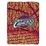 NBA Cleveland Cavaliers Redux Micro Raschel Throw, 46' x 60'