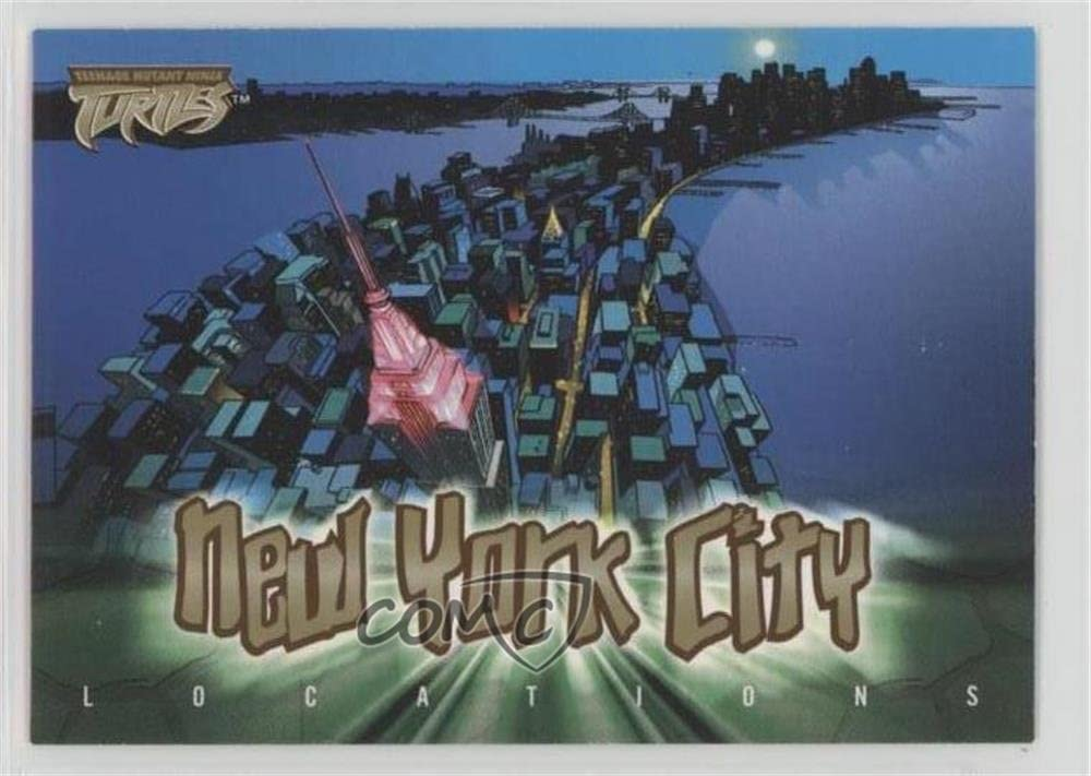 Locations - New York City (Trading Card) 2003 Fleer Teenage ...