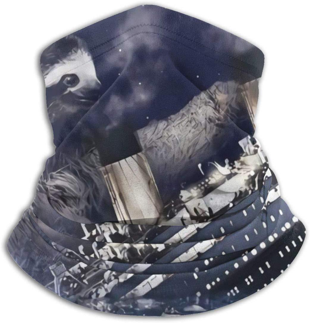 uytrgh Scaldacollo Maschera per Il Viso Freddo Antivento Ghetta Invernale per Bradipo Titanic Uomo Donna