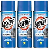 Easy-Off Fume Free Oven Cleaner, Lemon 14.5 oz Can (Pack of 3)