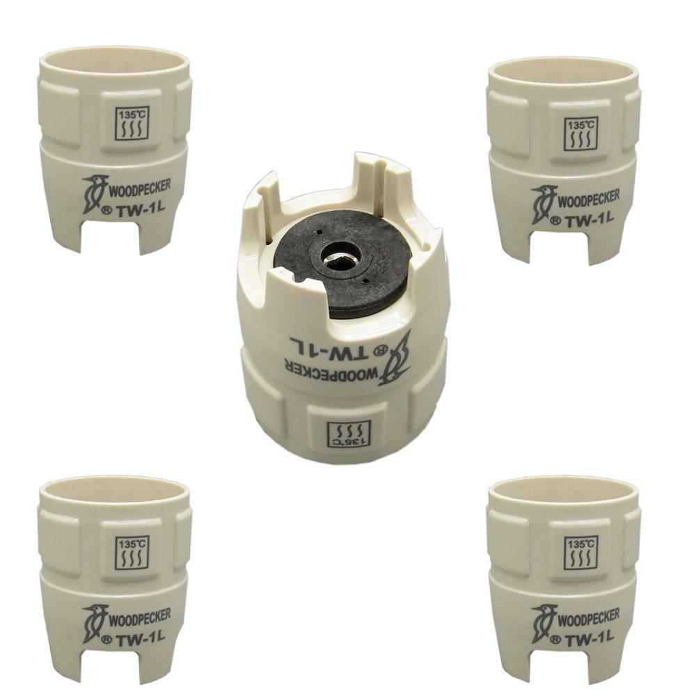 5 Pcs Woodpecker Tw-1l Dental Ultrasonic Scaler Tips Torque Wrench for UDS Scaler by Woodpecker