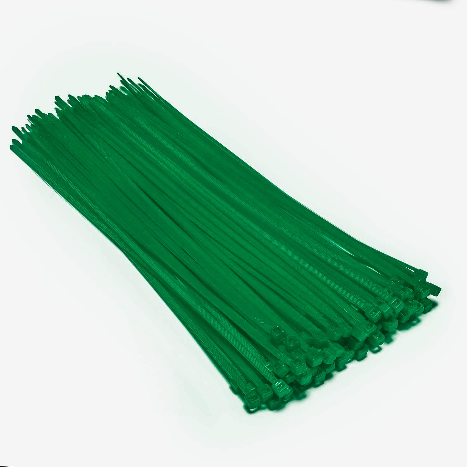 Multi-Purpose Nylon Zip Ties - (100 Piece) Self Locking Cable Ties with Ultra Strong Plastic 8', (Multiple Colors to Choose from - Green) (Multiple Colors to Choose from - Green) OUPENG