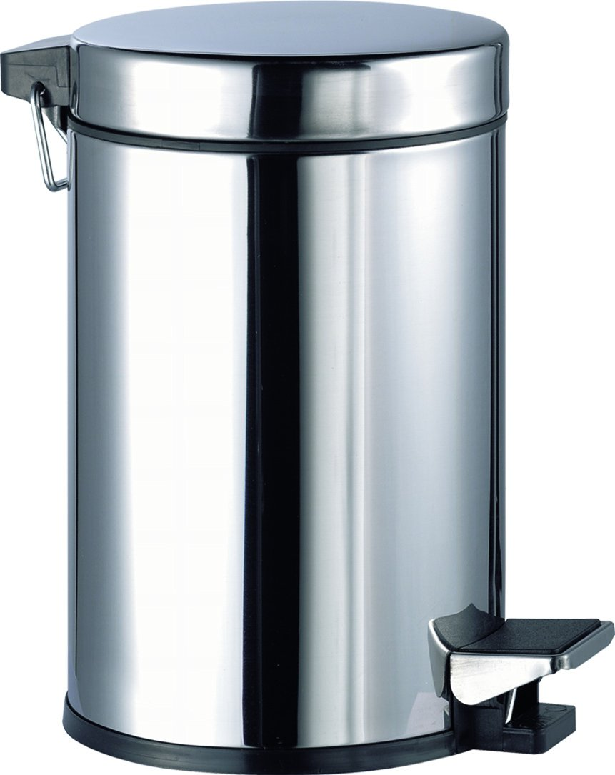 Aqualy® – Stainless Steel Pedal Bin (3 Litres) [Energy Class A+] Mirtak CA-62584