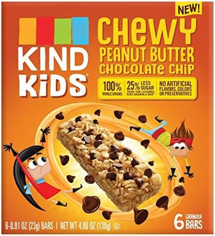 Granola & Protein Bars: KIND Kid's Chewy