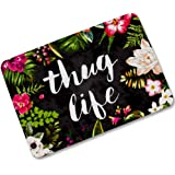 "Changyun Thug Life Flowers Doormat Entrance Mat Floor Mat Rug Indoor/Outdoor/Front Door/Bathroom Mats Rubber Non Slip (23.6""x15.7"",L x W)"