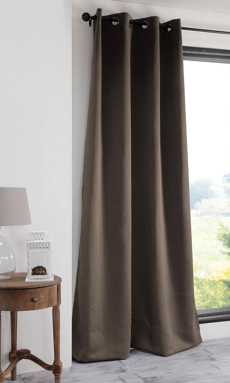 Lovely Casa R41840002 Notte Rideau occultant Polyester Ecru 180 x 135 cm