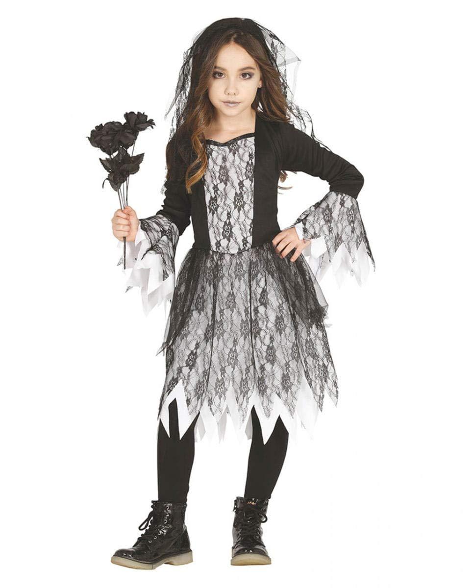 Horror-Shop Trendiges Gothic Ghost Mädchen Kostüm für Halloween und Motto Parties M
