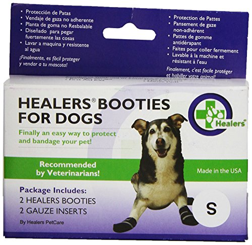 HEALERS Medical Dog Boots and Bandages - Small by Healers