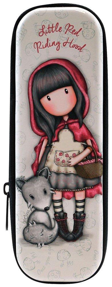 Astuccio portapenne metallo con zip Gorjuss Little Red Riding Hood Zipped Tin