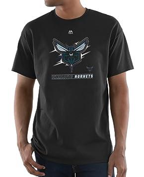 "Charlotte Hornets Majestic NBA ""visionario"" hombres de manga corta camiseta de ..."