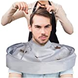 Hair Waterproof Apron, Barber Aceessories, Adult Haircut Folding Cloak Barber Haircut Accessory Styling Clothes Accessories