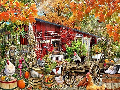 Barnyard Families 1000 Pc Jigsaw Puzzle by SunsOut
