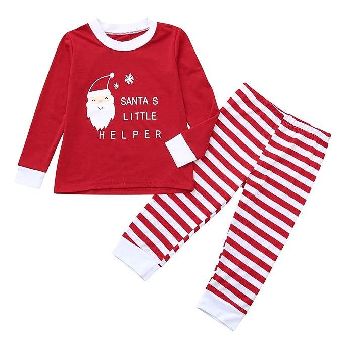 Amazon.com: Conjunto de camisas de Navidad para bebés y ...