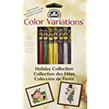 DMC Color Variations Floss Pack-Holiday 8/Pkg