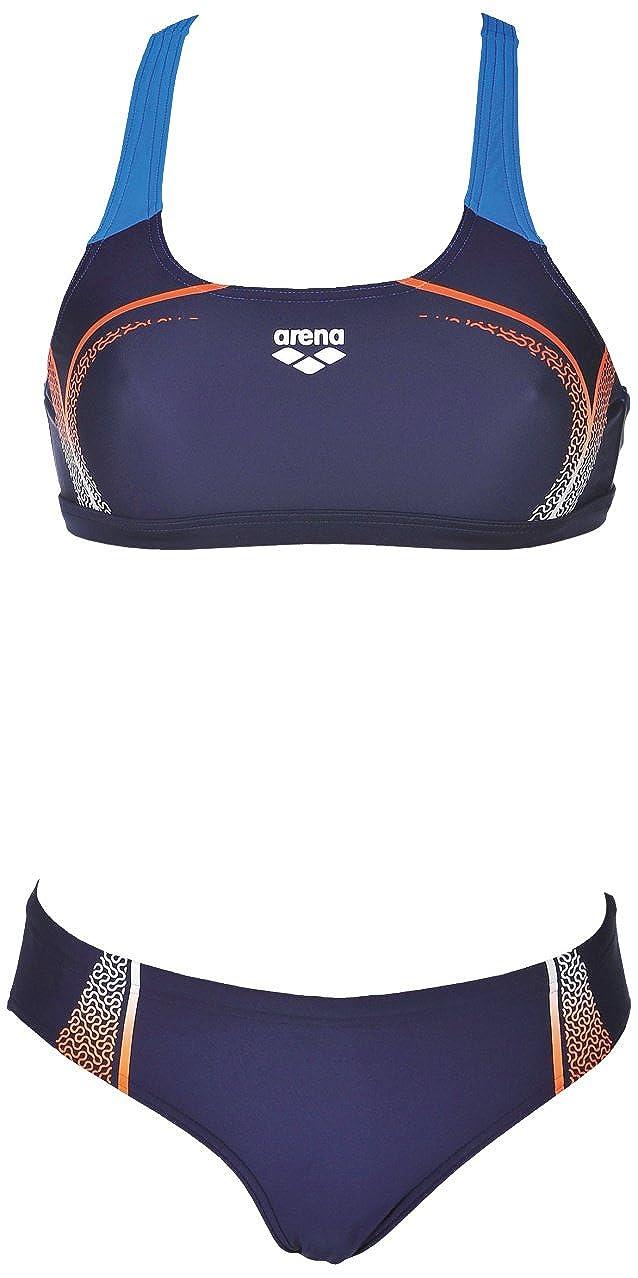 b5b8f6743461 arena Mujer Sport Bikini Modular (Secado rápido, protección UV UPF 50 +, de  Cloro/Agua Salada Best Integrado)