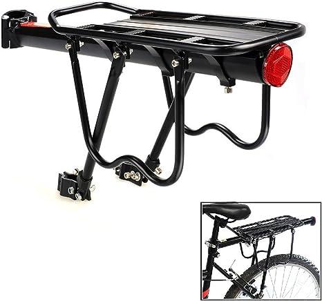 Bicicleta carga estante para bicicleta portaequipajes portador de ...