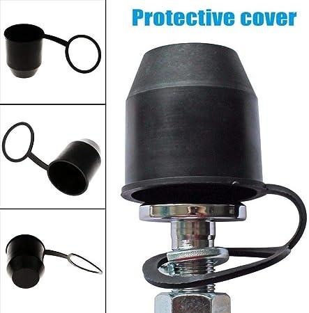 50mm Car Towbar Towball Black Cap Tow Ball Towing Protective Cover
