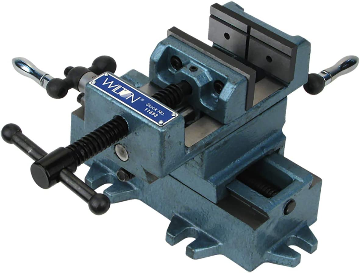 "Wilton CS4 4"" Cross-Slide Drill Press Vise (11694)"