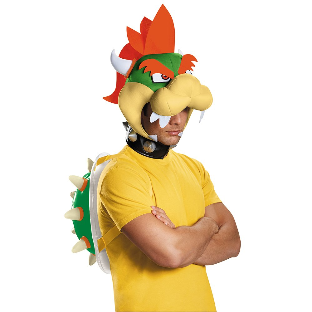 Amazon.com Disguise Menu0027s Bowser Costume Kit - Adult Multi One Size Clothing  sc 1 st  Amazon.com & Amazon.com: Disguise Menu0027s Bowser Costume Kit - Adult Multi One ...