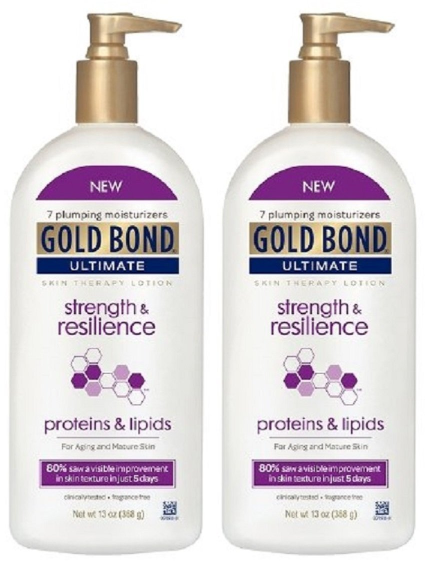 Gold Bond Ultimate Skin Therapy Lotion, Strength & Resilience 13 oz Pack of 2