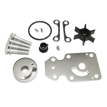 Amazon com : Water Pump Impeller Repair Kit Replacement for