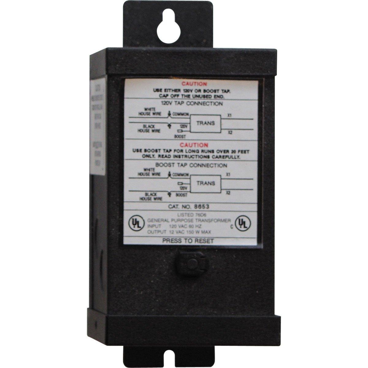 Progress Lighting P8653-31 13 Volt Transformer, Black