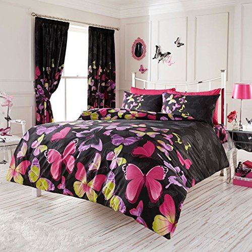 Butterfly Luxury Double Bed Set