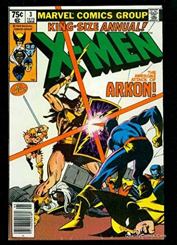 X-Men Annual #3 NM- 9.2